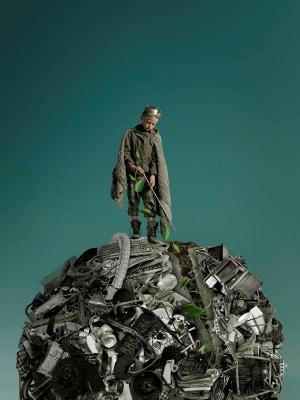 Nuestra casa la tierra. la basura