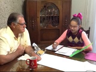 Entrevistando a mi abuel@