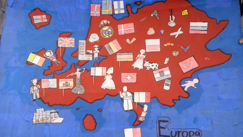 Nuestro mural continentes