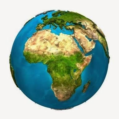 Los océanos y continentes de mi planeta